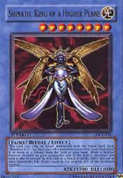 2003 Yu-Gi-Oh Dark Crisis 1st Edition #DCR16 Shinato, King of a Higher Plane UR