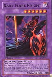 2003 Yu-Gi-Oh Dark Crisis 1st Edition #DCR17 Dark Flare Knight SR