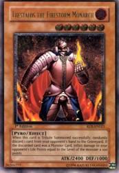 2004 Yu-Gi-Oh Rise of Destiny 1st Edition #RDSEN21 Thestalos the Firestorm/ Monarch UTR