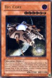 2004 Yu-Gi-Oh Rise of Destiny 1st Edition #RDSEN30 Big Core UTR