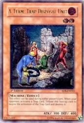 2004 Yu-Gi-Oh Rise of Destiny 1st Edition #RDSEN33 A-Team: Trap Disposal Unit UTR