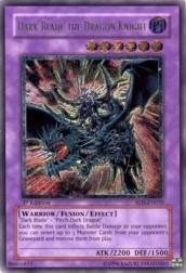 2004 Yu-Gi-Oh Rise of Destiny 1st Edition #RDSEN35 Dark Blade/ The Dragon Knight UTR