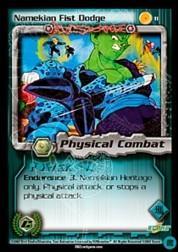 2002 Dragon Ball Z Cell Games Saga Limited #11  Namekian Fist Dodge C