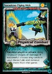 2002 Dragon Ball Z Cell Games Saga Limited #12  Namekian Flying Kick C