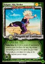 2002 Dragon Ball Z Cell Games Saga Limited #23  Saiyan Ally Strike C
