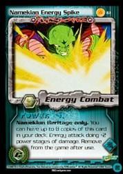 2002 Dragon Ball Z Cell Games Saga Limited #61  Namekian Energy Spike U