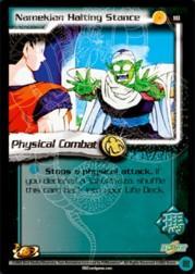 2002 Dragon Ball Z World Games Saga Limited #18  Namekian Halting Stance C