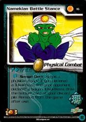2002 Dragon Ball Z World Games Saga Limited #16  Namekian Battle Stance C