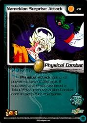 2002 Dragon Ball Z World Games Saga Limited #20  Namekian Surprise Attack C