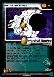 2002 Dragon Ball Z World Games Saga Limited #21  Namekian Throw C