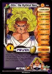 2002 Dragon Ball Z World Games Saga Limited #186  Olibu, the Magical Hero (Level 1) P