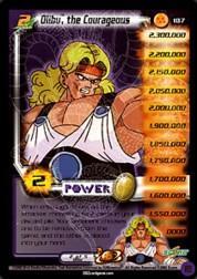 2002 Dragon Ball Z World Games Saga Limited #187  Olibu, the Courageous (Level 2 ) P