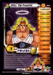 2002 Dragon Ball Z World Games Saga Limited #188  Olibu, the Powerful (Level 3) P
