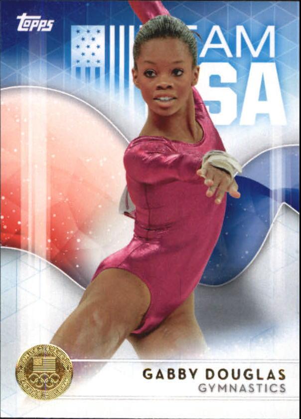 2016 Topps U.S NM-MT Olympic Team Silver #75 Gabby Douglas