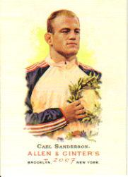 2007 Topps Allen and Ginter #23 Cael Sanderson