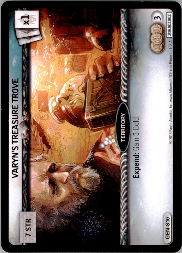 2016 Afterworld Atlantean Starter Set #GENS10 Varyns Treasure Trove S