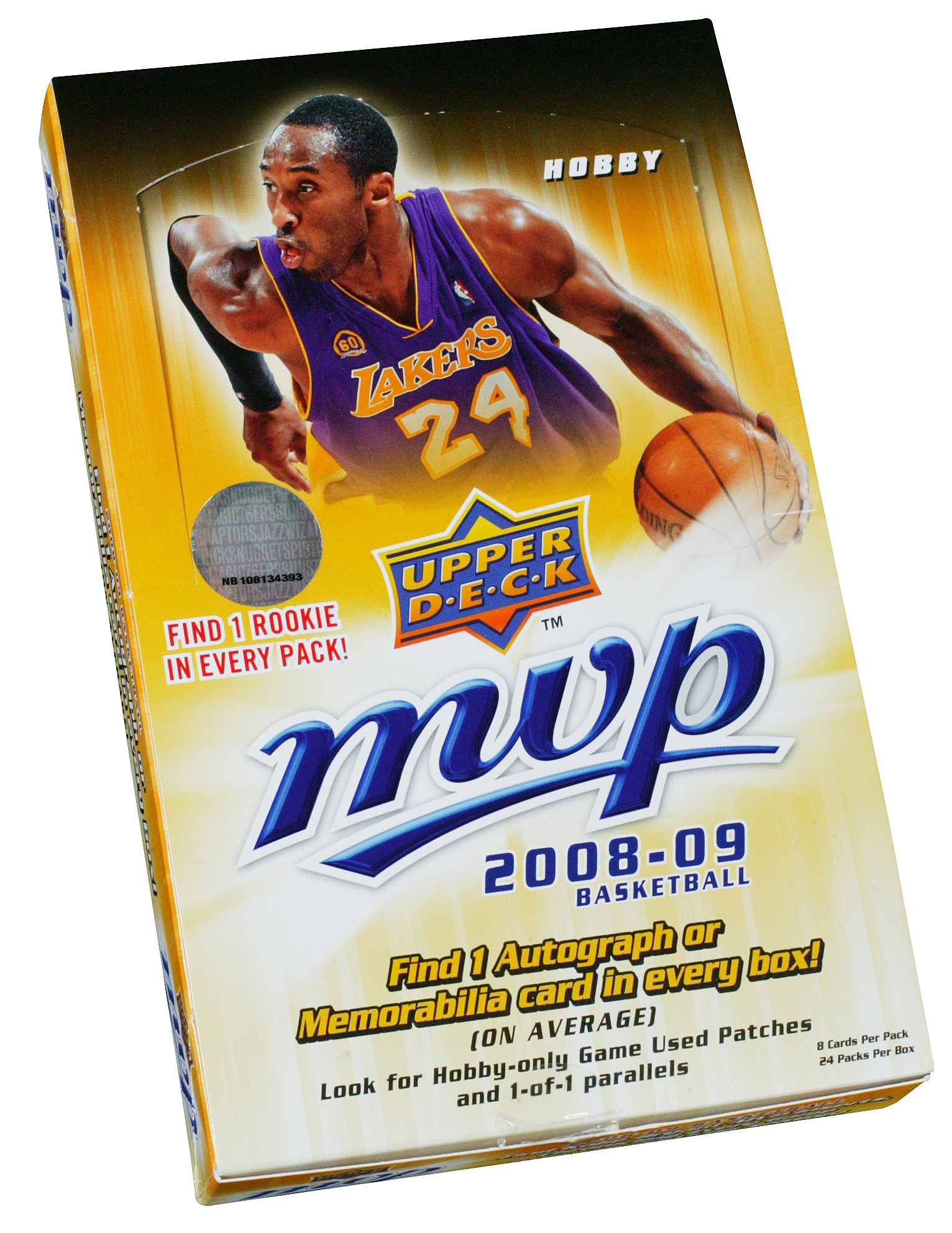 2008-09 Upper Deck MVP Basketball Hobby Box card image