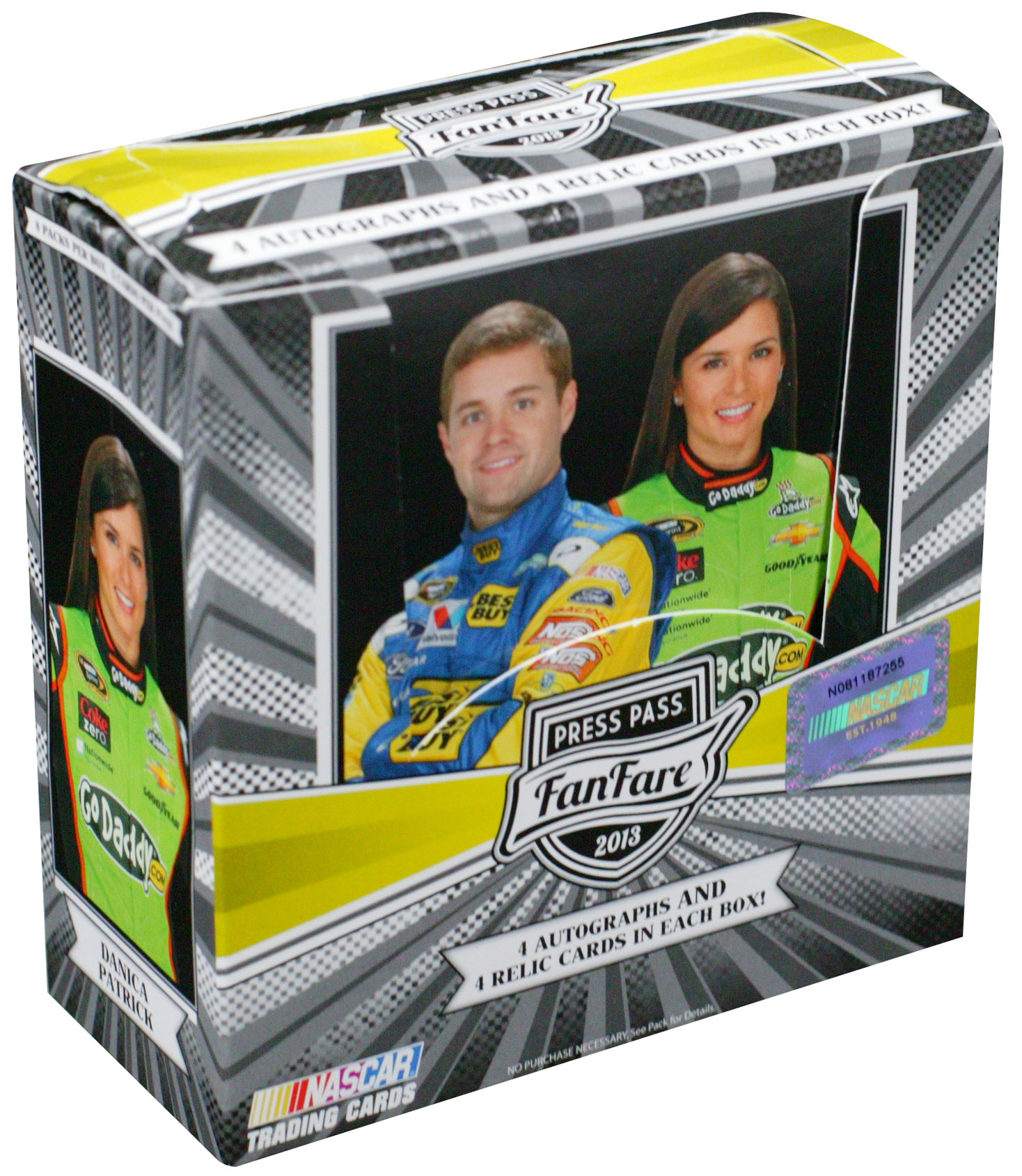 2013 Press Pass Fanfare Racing Hobby Box