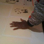 Jordan Tegata - Hand Print