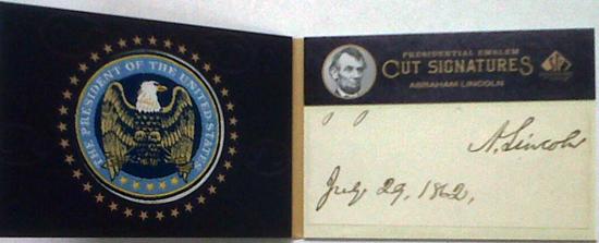 2011-SP-Legendary-Cuts-Presidential-Emblem-Cut-Signatures-Abraham-Lincoln-Open