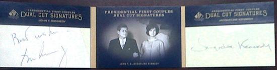 2011-SP-Legendary-Cuts-Presidential-First-Couples-John-F-Kennedy-Jackie-Kennedy-Dual-Cut